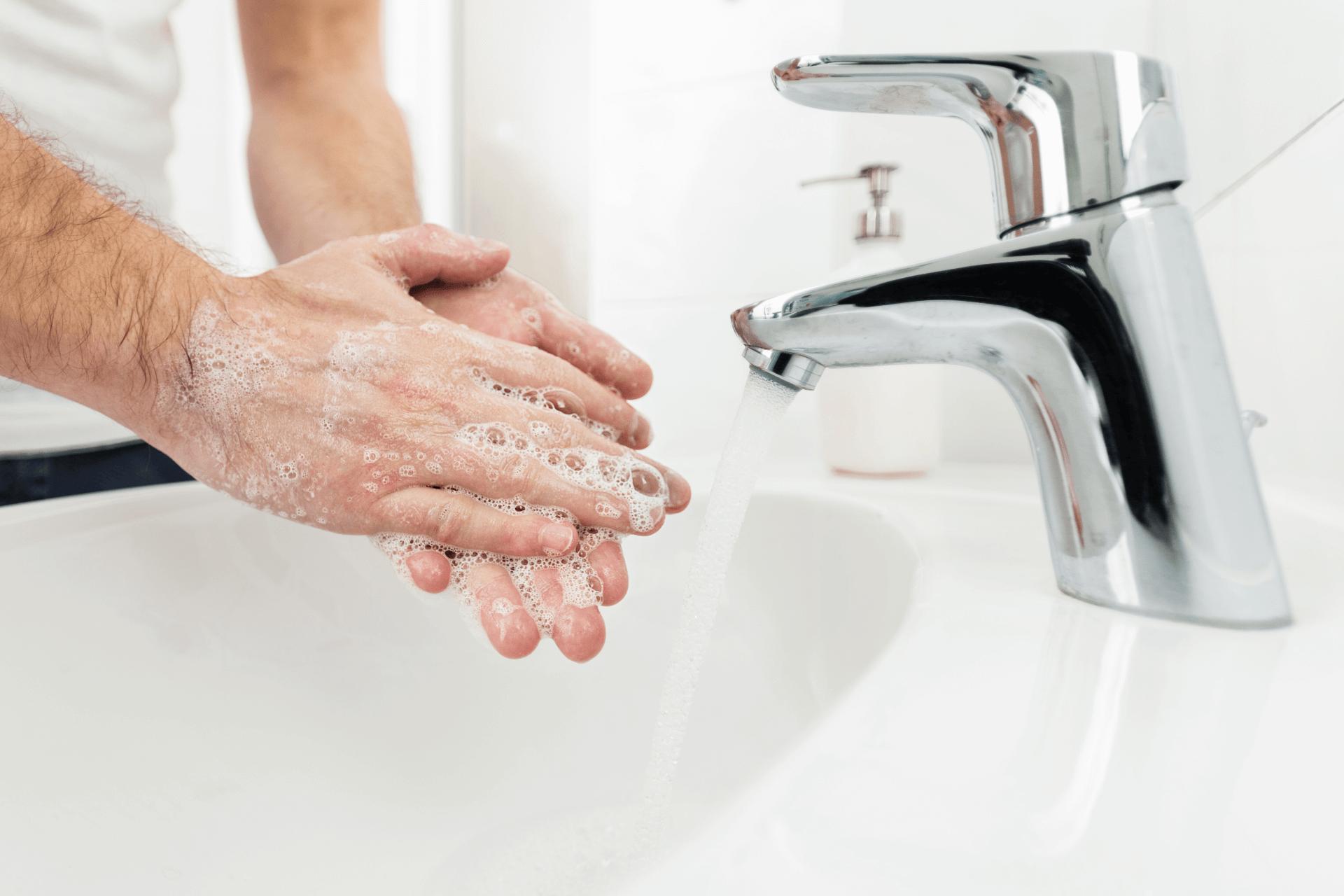 Landvetter Parkering | Coronavirus: Tvätta händerna ordentligt
