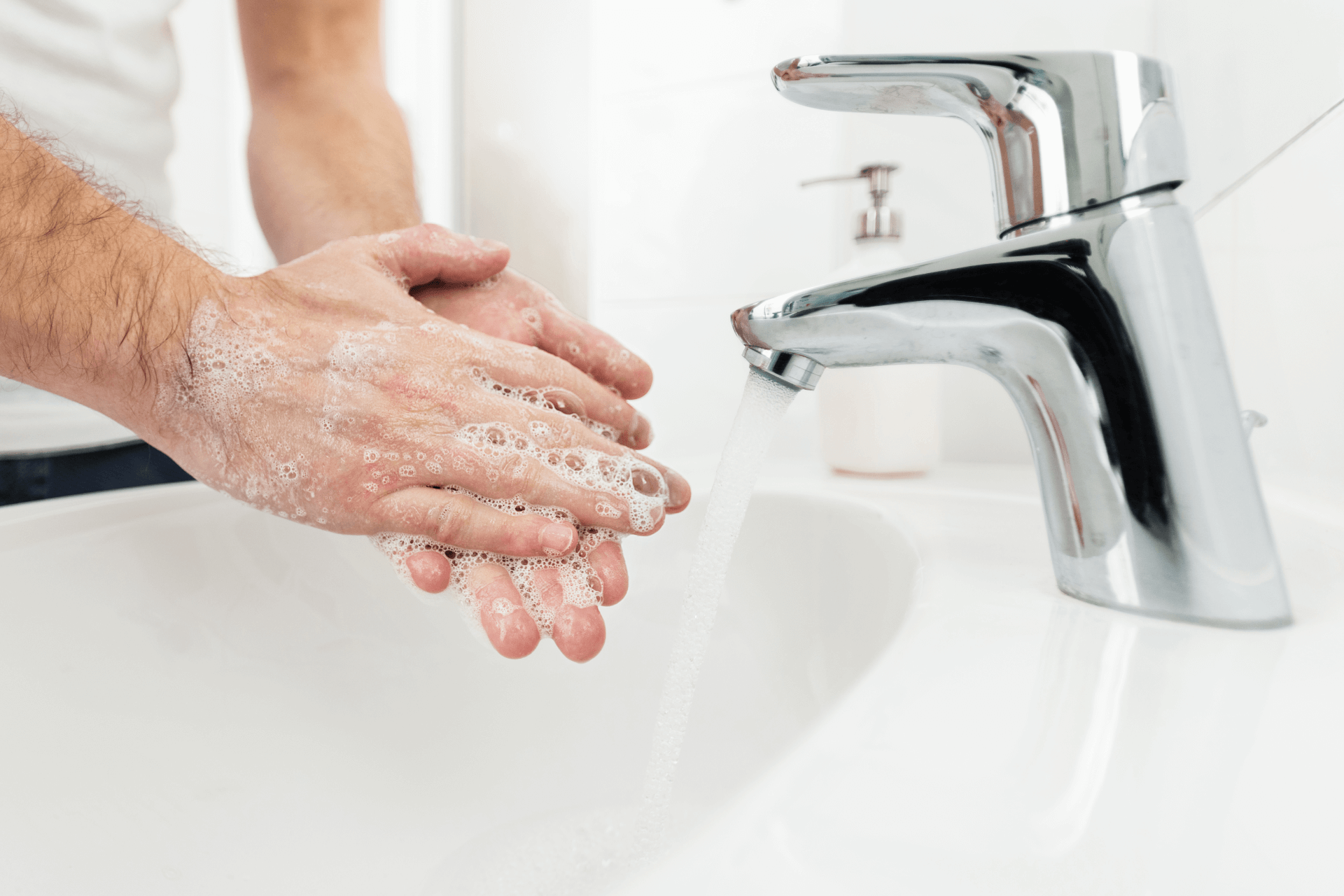 Landvetter Parkering | Coronavirus: Wash your hands properly